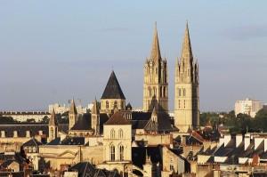 Clochers de Caen